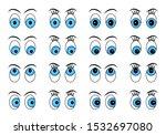 eye set on white isolated...   Shutterstock .eps vector #1532697080