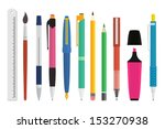 paint and writing tools...