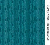 green abstract geometric pixel... | Shutterstock .eps vector #153271244