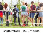 group of young friends waiting... | Shutterstock . vector #1532745836