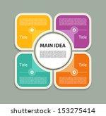vector progress background  ... | Shutterstock .eps vector #153275414
