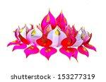 loy kratong festival | Shutterstock . vector #153277319