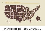 detailed vintage map of the... | Shutterstock .eps vector #1532784170