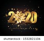 2020 happy new year vector...   Shutterstock .eps vector #1532821106