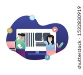 concept of referral marketing ...   Shutterstock .eps vector #1532830919