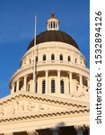 Small photo of California State Capitol building in Sacramento, United States.