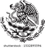 black and white carved style... | Shutterstock .eps vector #1532895596