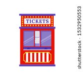 Ticket Booth. Vector. Circus ...