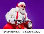 Photo Of Santa Claus Role Man...