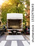 Open Furniture Delivery Truck...