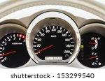 closeup of modern car... | Shutterstock . vector #153299540