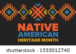 native american heritage month...   Shutterstock .eps vector #1533012740