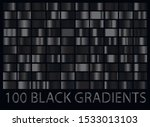 luxury dark black metal big... | Shutterstock .eps vector #1533013103