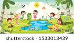 Little Children Gardening And...