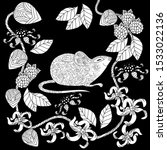 coloring pages. coloring book... | Shutterstock .eps vector #1533022136