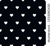 cute black and white heart... | Shutterstock .eps vector #1533082430