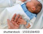 Mother Holding Her Newborn Bab...