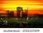 abstract motion blur golden... | Shutterstock . vector #1533137699