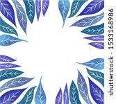 beautiful green blue violet... | Shutterstock .eps vector #1533168986