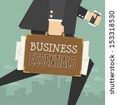 businessman    Shutterstock .eps vector #153318530
