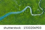 Aerial View Mangrove Jungles I...