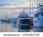 Motor Yachts And Sailboats...