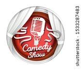 Comedy Show  Vector...