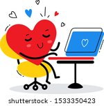 vector illustration of red... | Shutterstock .eps vector #1533350423