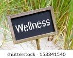wellness | Shutterstock . vector #153341540