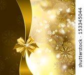 christmas illustration. vector... | Shutterstock .eps vector #153345044