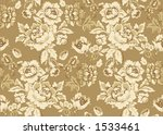 seamlessly repeating floral... | Shutterstock . vector #1533461
