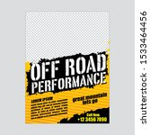 off road flyer   poster cover... | Shutterstock .eps vector #1533464456