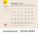 design concept layout january...   Shutterstock .eps vector #1533476483