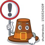 with sign pilgrims hat in the... | Shutterstock .eps vector #1533524339