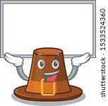 up board pilgrims hat in the... | Shutterstock .eps vector #1533524360
