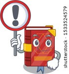 with sign magic spell book in... | Shutterstock .eps vector #1533524579