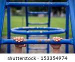 Hold On To Monkey Bars At...