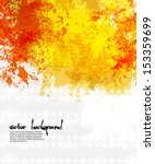 abstract artistic background of ... | Shutterstock .eps vector #153359699