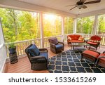 Beautiful Screened In Porch...