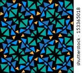 geometric seamless pattern....   Shutterstock .eps vector #153365018