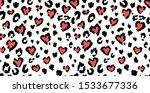 leopard or jaguar print... | Shutterstock .eps vector #1533677336