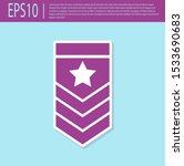 retro purple chevron icon... | Shutterstock .eps vector #1533690683