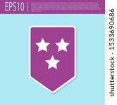 retro purple chevron icon... | Shutterstock .eps vector #1533690686