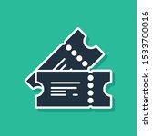 blue cinema ticket icon... | Shutterstock .eps vector #1533700016