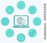internet security vector icon... | Shutterstock .eps vector #1533722210