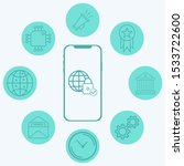 internet security vector icon... | Shutterstock .eps vector #1533722600