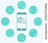 internet security vector icon... | Shutterstock .eps vector #1533722606