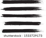 brush stroke set isolated on...   Shutterstock .eps vector #1533729173