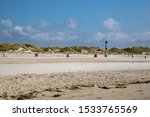Amrumer Lighthouse With Beach...