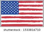 grunge american flag.grunge... | Shutterstock .eps vector #1533816710